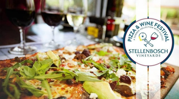 Pizza and wine festival Stellenbosch vineyards 2017